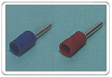 Pin terminal (PC-type Vinyl-insulated (straight, flared))