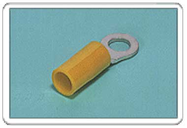 Ring tongue terminal (R-type, Nylon-insulated) (straight)