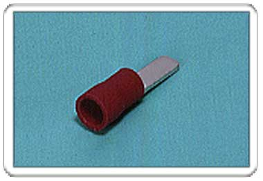 Blade terminal (AF-type, Vinyl-insulated) (flared)