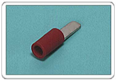 Blade terminal (AF-type, Vinyl-insulated) (straight)